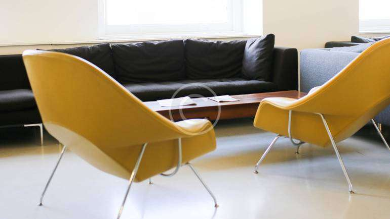 Yellow Furniture for a Modern Living Room