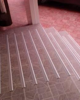 Противоскользящие алюминиевые накладки
